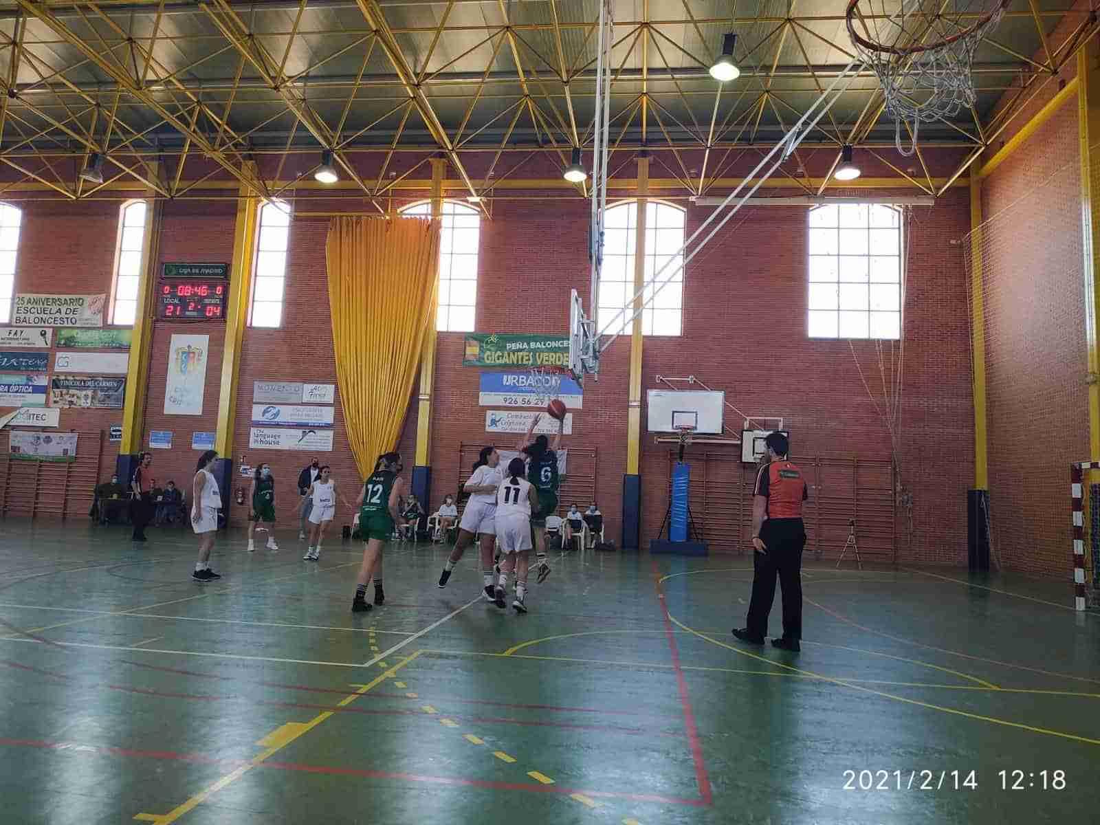 Crónicas Baloncesto Criptana segunda semana de febrero 4
