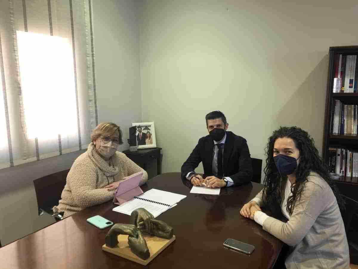 encuentro delegada de la junta alcalde campo de criptana