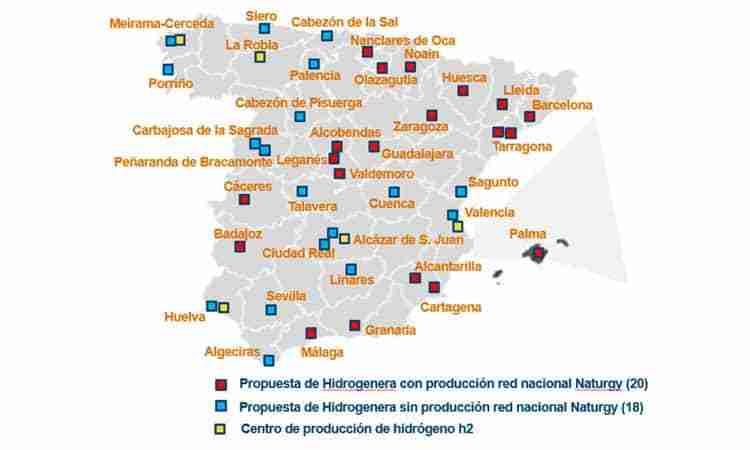 Naturgy impulsa la movilidad sostenible con la construcción de sus primeras cinco hidrogeneras en Castilla-La Mancha 1