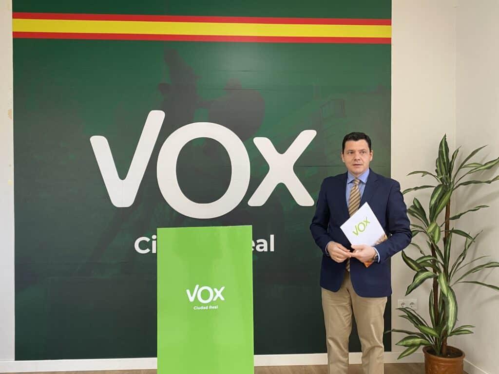 VOX Ciudad Real presentó una moción para el pleno de febrero acerca del plan de vacunación nacional 1