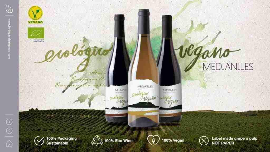 Japón premia los vinos ecológicos 'Medianiles' de cooperativa El Progreso con dos medallas de oro 2