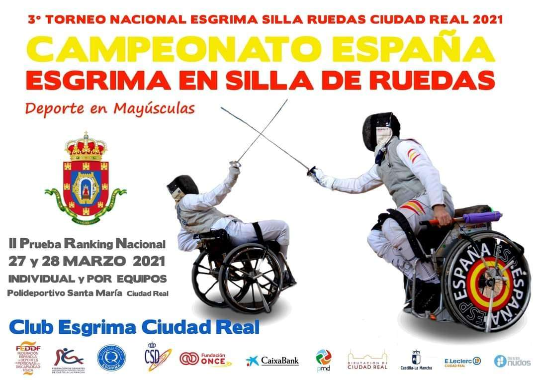 Campeonato de España de esgrima en silla de ruedas