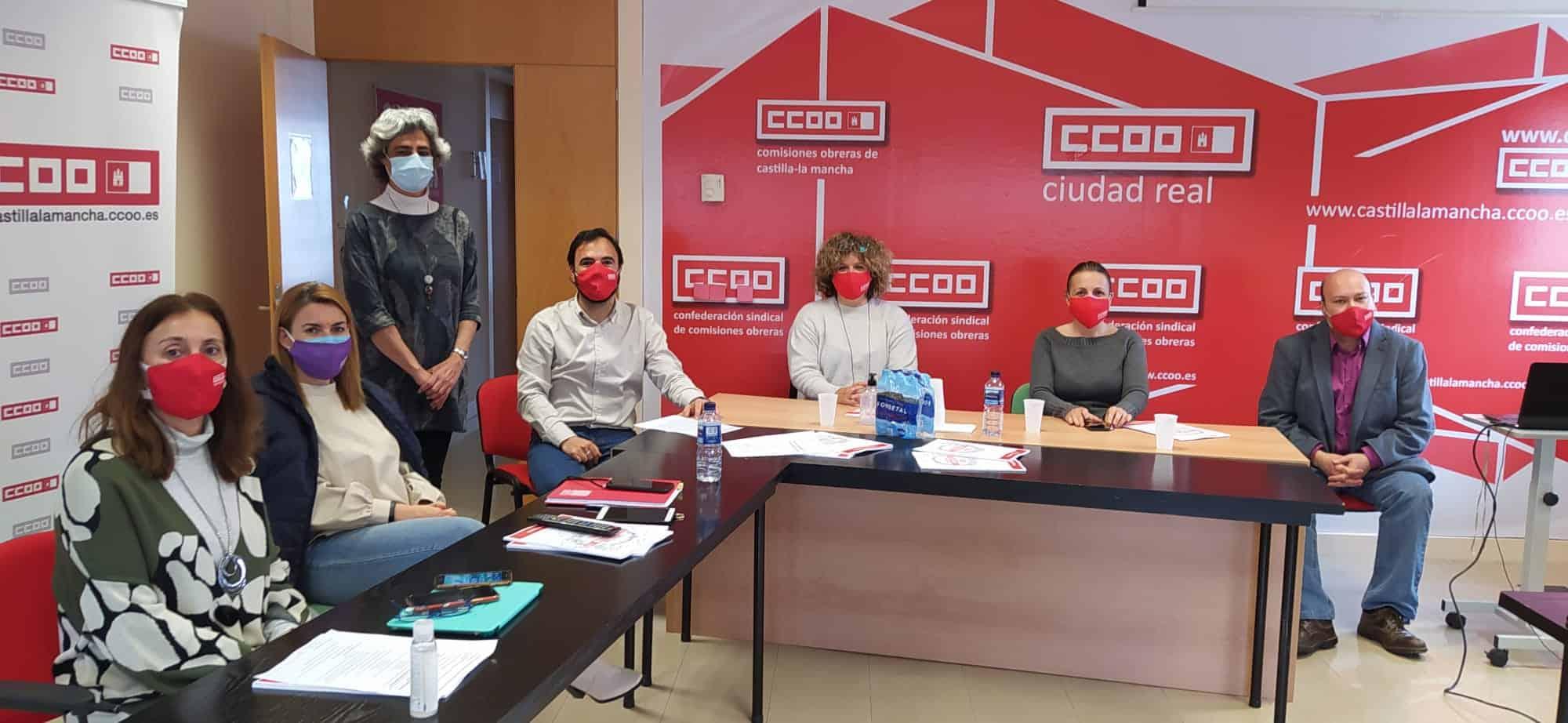 Ángela Briones Manzano, reelegida responsable provincial de CCOO-Servicios de Ciudad Real por unanimidad 3