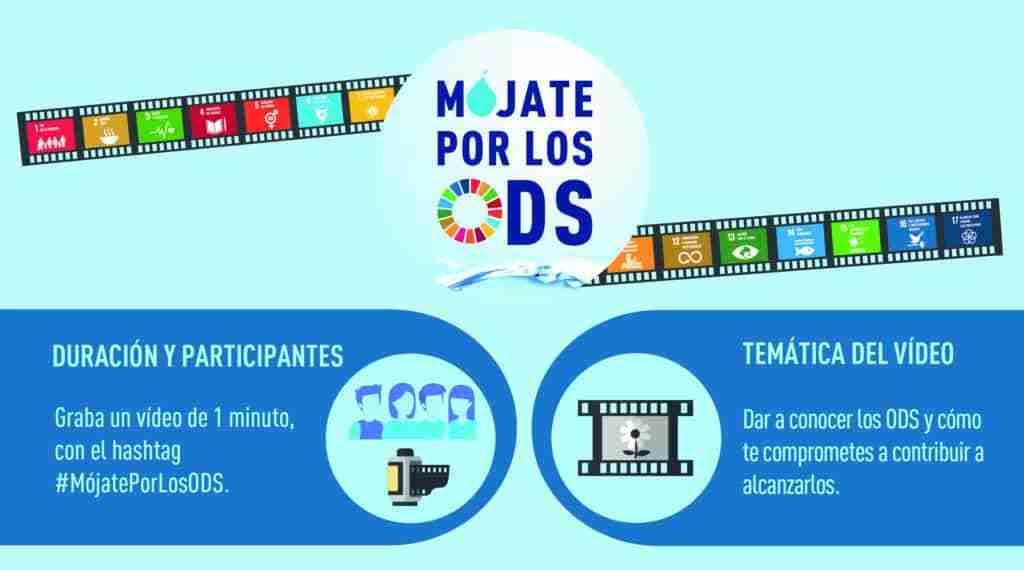 Está en marcha la nueva edición de 'Mójate por los ODS', un concurso de vídeo de Aquona para contribuir con los Objetivos de Desarrollo Sostenible 1