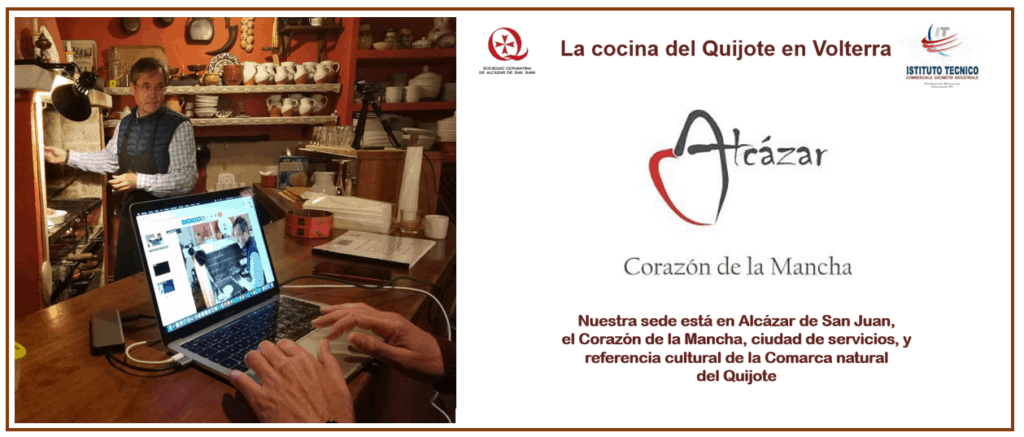 La cocina del Quijote en Italia 3