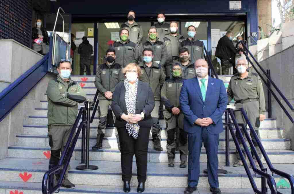 El Gobierno regional dio la bienvenida a los nueve agentes medioambientales que se incorporan al cuerpo en Ciudad Real 1