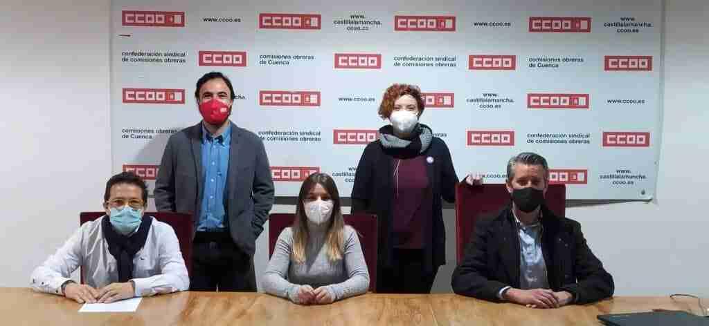 Reeligen a Gema Vicente como responsable provincial de CCOO-Servicios de Cuenca por unanimidad de la asamblea congresual 1