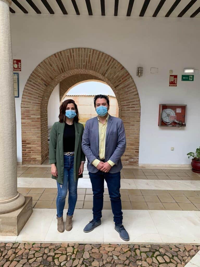 El grupo socialista de Granátula de Calatrava se interesa por la ayuda prestada al municipio desde la Diputación en el año de pandemia 1