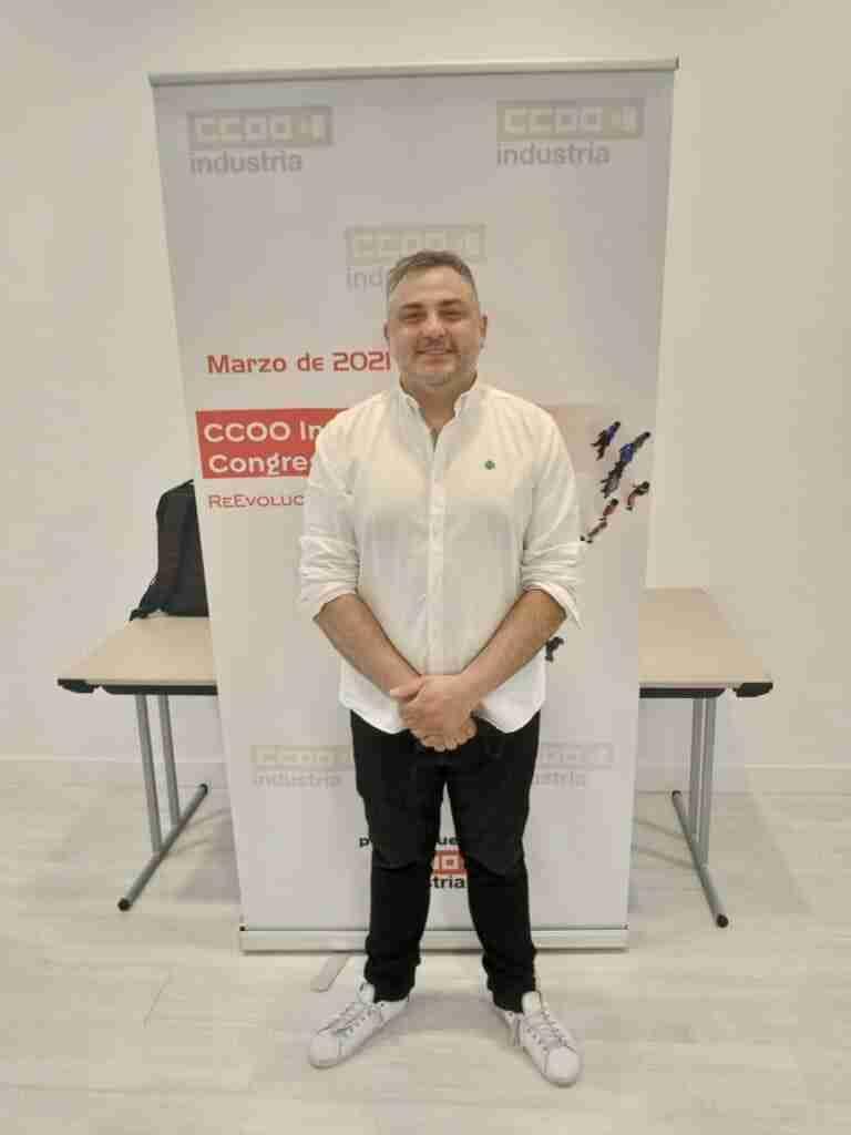 Eduardo Boga asumió la secretaría general de CCOO-Industria Guadalajara con apoyo unánime del III Congreso provincial 2