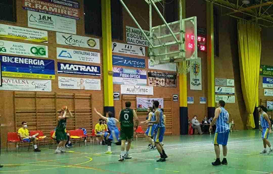 Crónicas baloncesto Criptana último fin de semana de febrero 9
