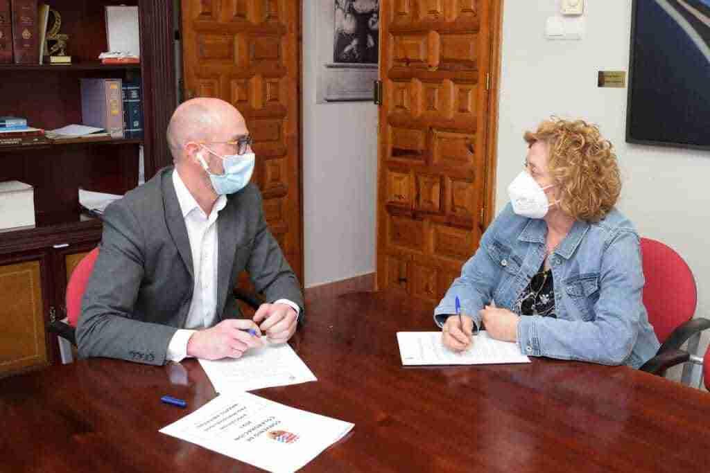Colaboración entre Brazos Abiertos y el Ayuntamiento de Argamasilla de Alba para integrar a la sociedad a personas con discapacidad 1