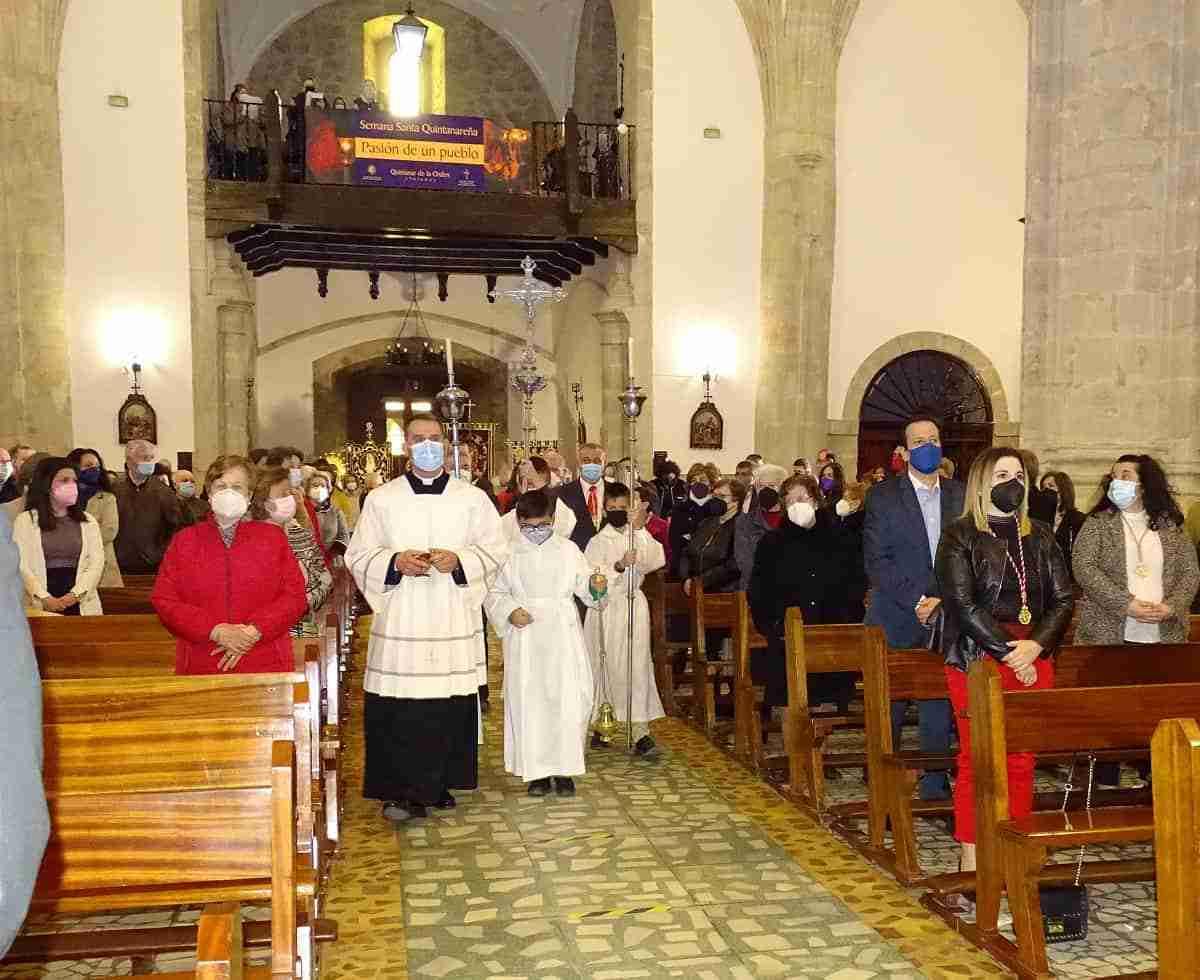 Quintanar celebra el Domingo de Ramos con una Solemne Misa en la Parroquia 3