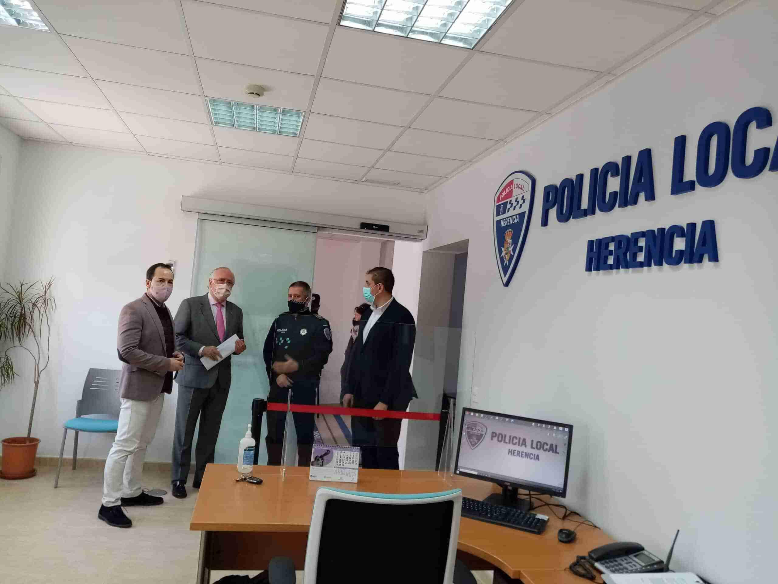 La Policía Local de Herencia inaugura sus nuevas dependencias 8