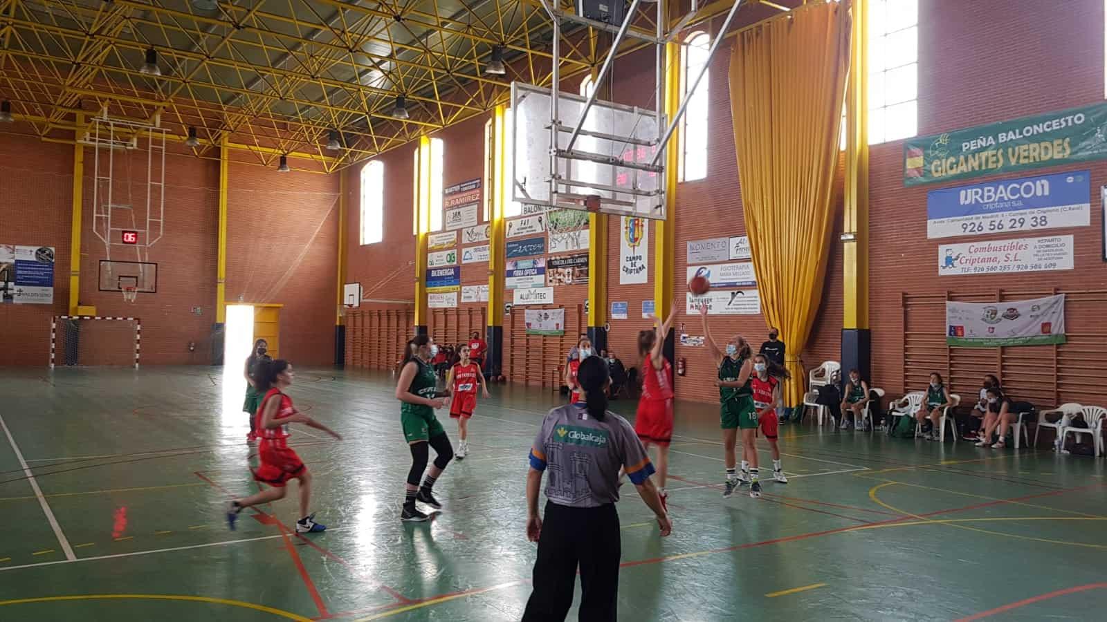 Victoria de los tres equipos del Baloncesto Criptana en una nueva jornada de liga 9