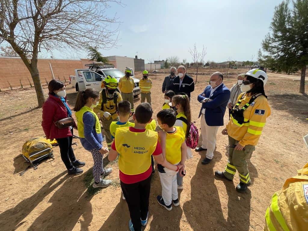 Los alumnos del colegio de Carrión de Calatrava aprenden sobre respeto y cuidado al medio ambiente gracias al Ayuntamiento y la JCCM 4