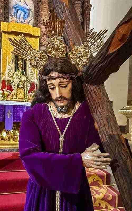 Nuestro Padre Jesús Nazareno recupera las huellas de su calvario con más de 70 años, cuando llegó de Almodóvar del Campo 1