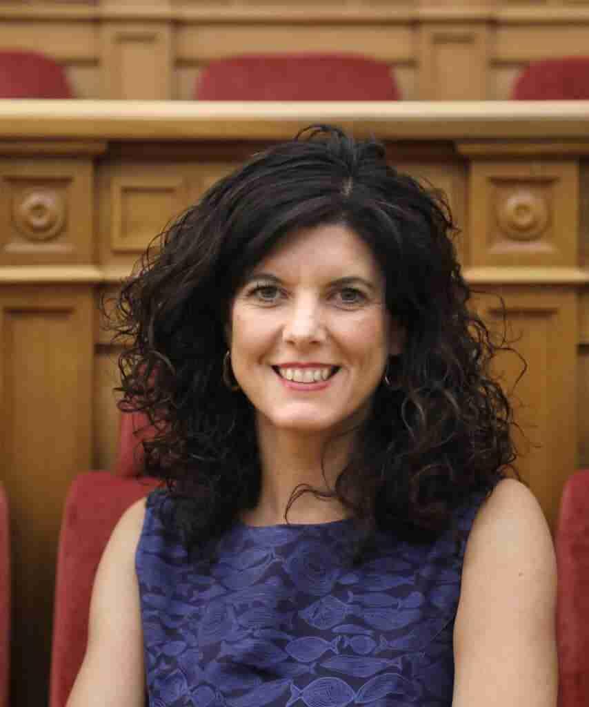 La vicepresidenta de las Cortes regionales Josefina Navarrete en el Congreso de Poderes Locales y Regionales del Consejo de Europa 1