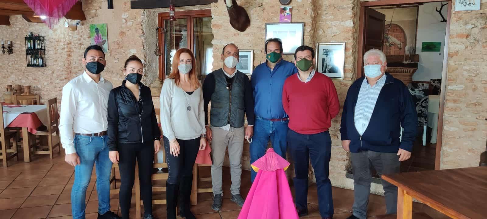Ricardo Chamorro, diputado de VOX, visita la comarca de Montiel 5