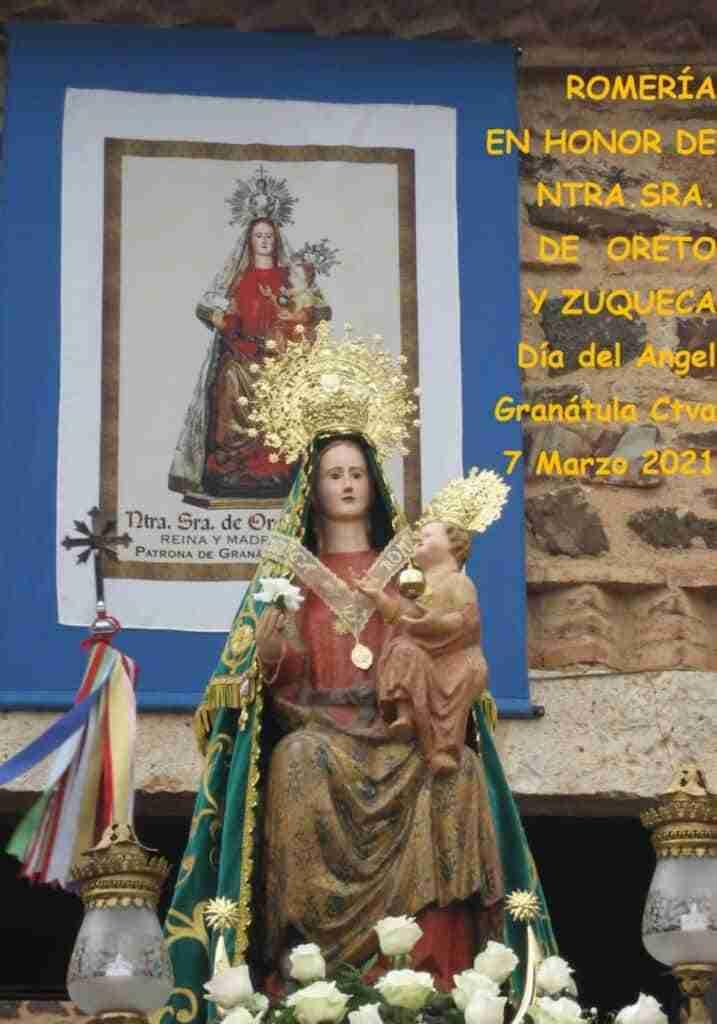 Se suspende la Romería en honor a la Virgen de Oreto y Zuqueda de Granátula de Calatrava, programada para el 7 de marzo 3