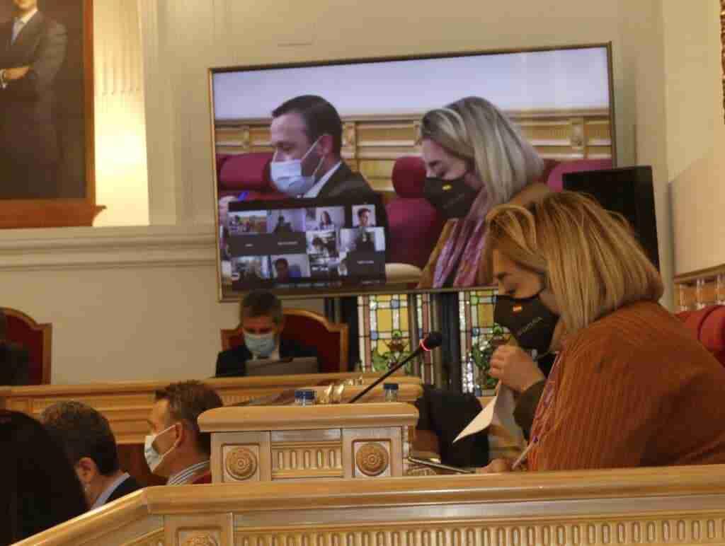 El Ayuntamiento de Toledo rechazó una moción de VOX para apoyar a la Policía y Guardia Civil por los ataques de la izquierda radical 1