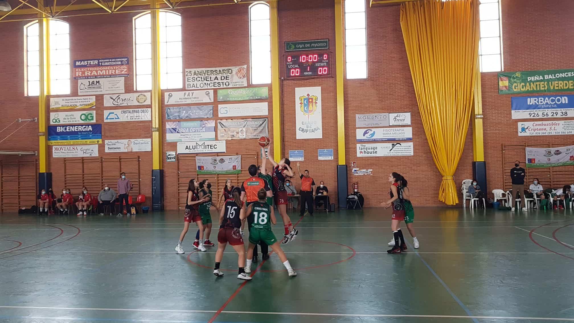 El equipo junior femenino de baloncesto Criptana se alzó con la victoria en la última jornada de liga 5
