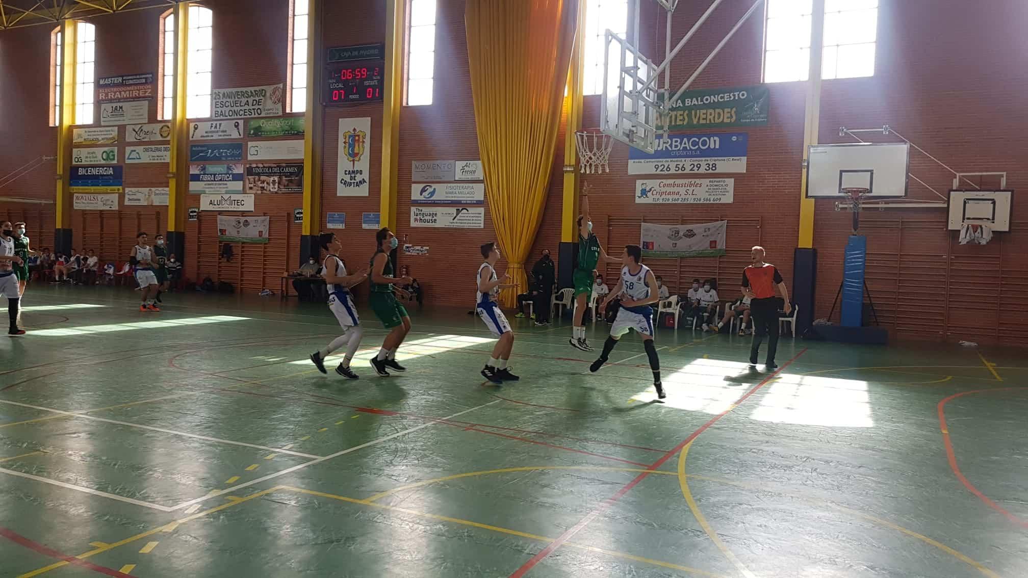 El equipo junior femenino de baloncesto Criptana se alzó con la victoria en la última jornada de liga 4