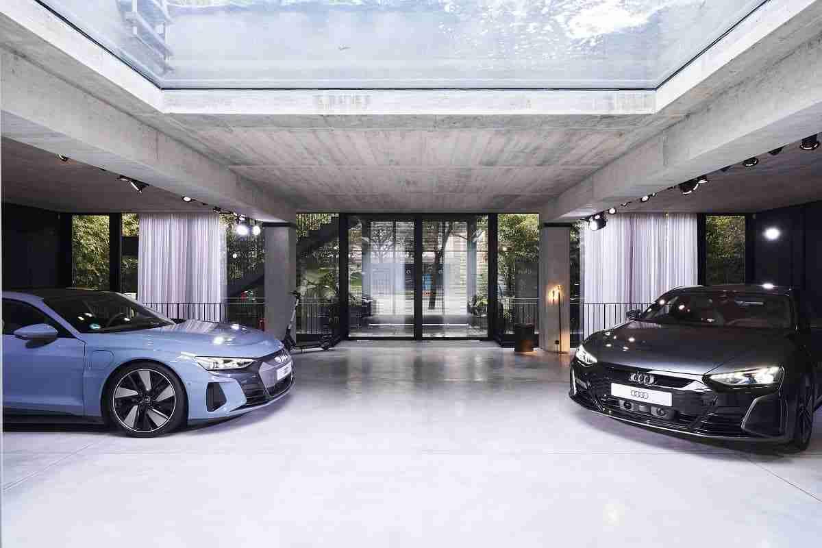 Villa Mayfair e-tron GT The Exhibition 4 1