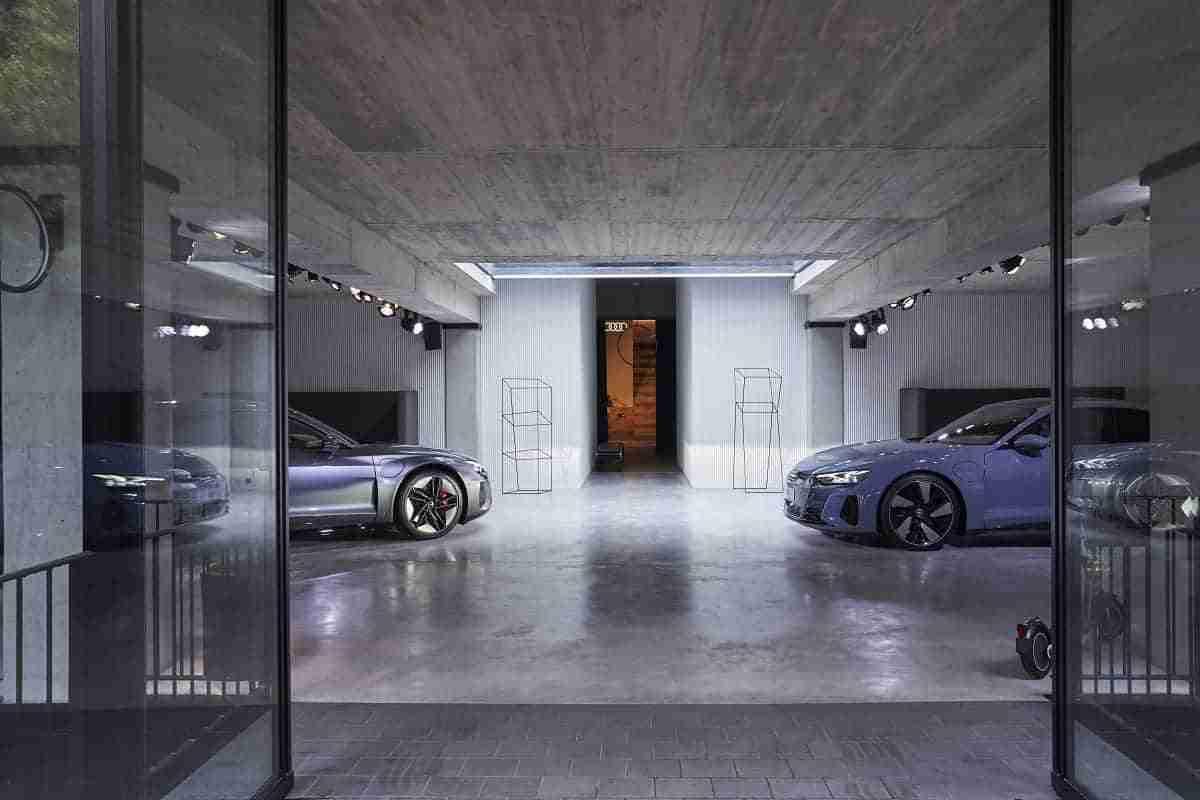 Villa Mayfair e-tron GT The Exhibition 9 1