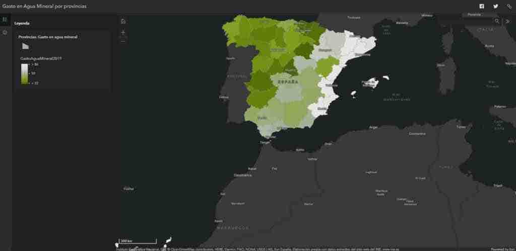 Entre 2015 y 2019, el gasto en agua embotellada en Castilla-La mancha creció un 3% 2
