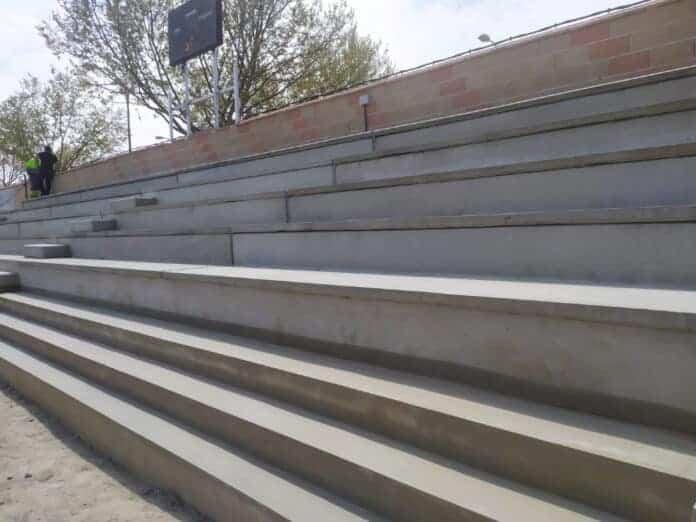 amplian gradas estadio villarrubia