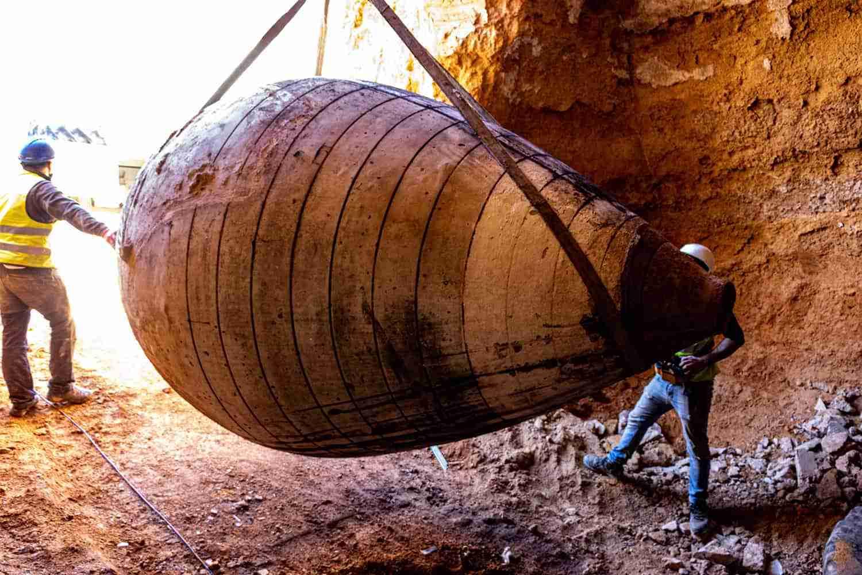 Arqueología del vino en Tomelloso con la recuperación de tinajas centenarias 3