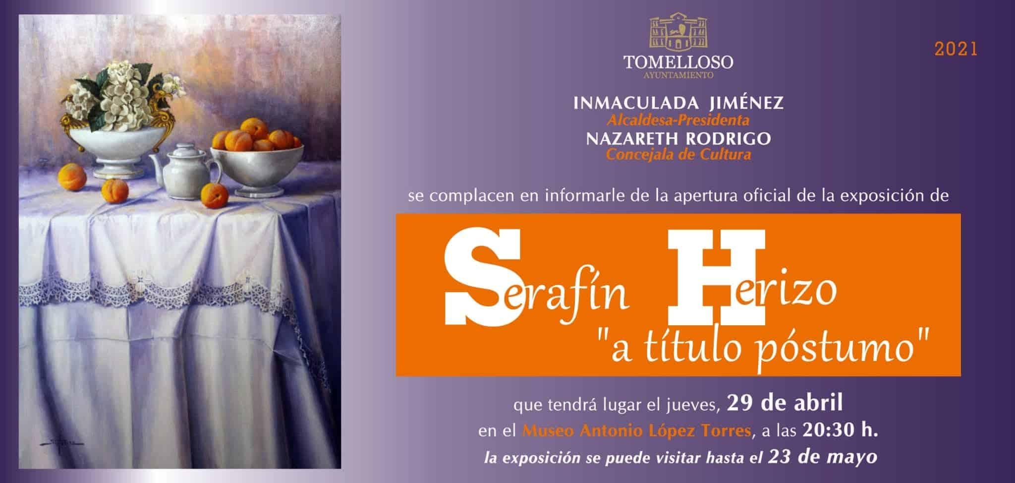 El López Torres acogerá desde el jueves una exposición de pintura de Serafín Herizo 3