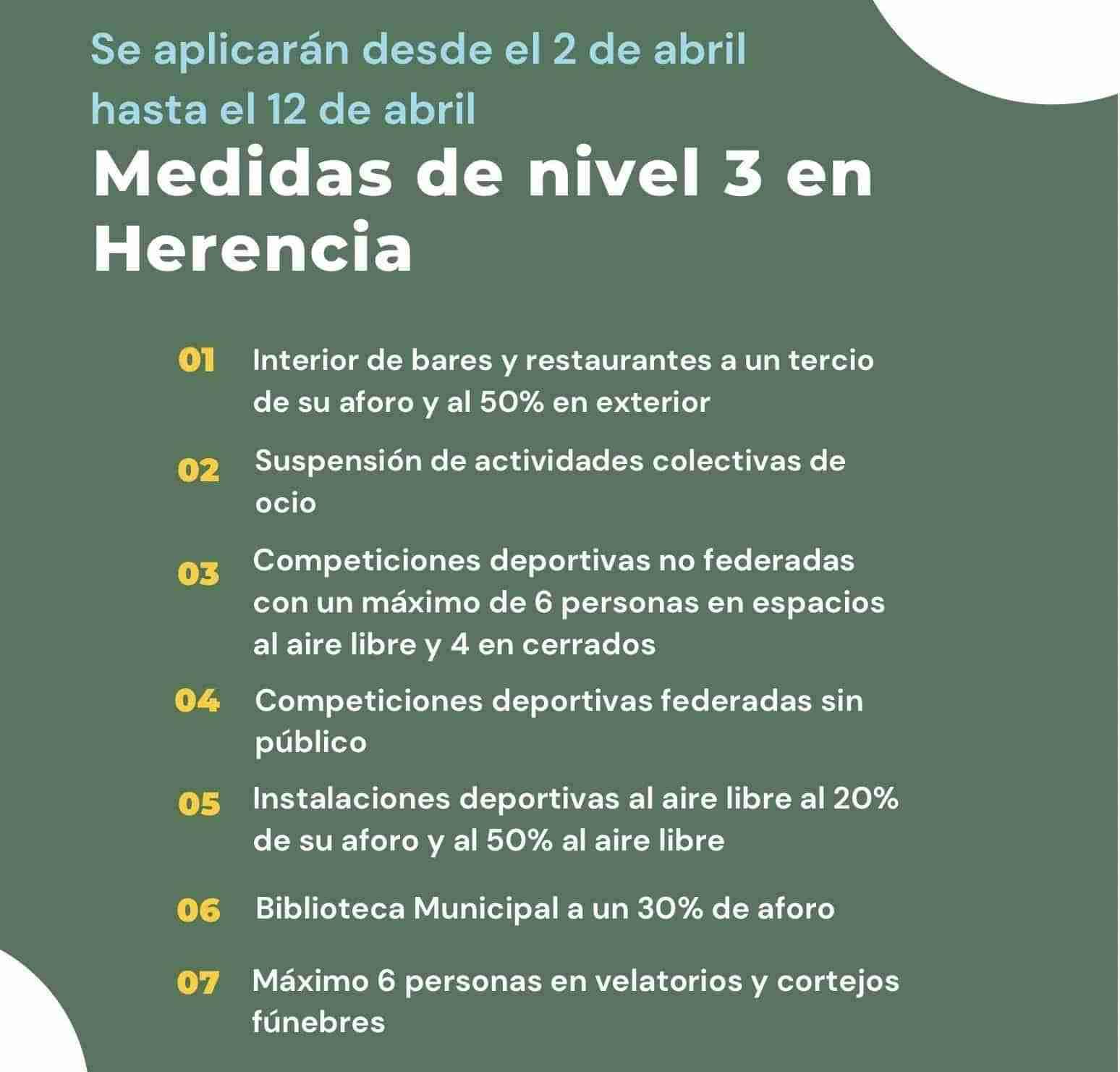 Sanidad decreta medidas especiales nivel 3 en el municipio ciudadrealeño de Herencia 3