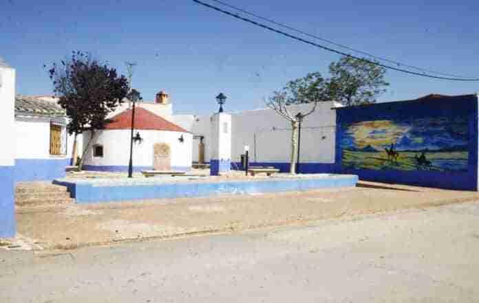mural quijotesco en aldea del rey