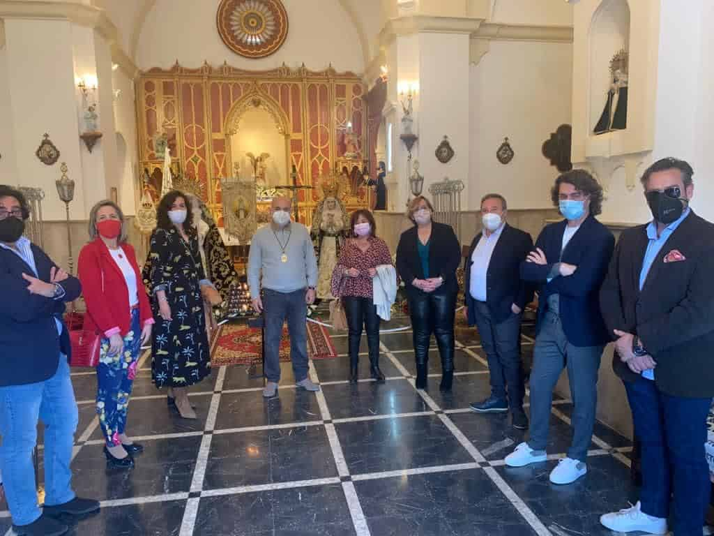 Carmen Teresa Olmedo ha conocido las peculiaridades de la Semana Santa Calzadeña 3