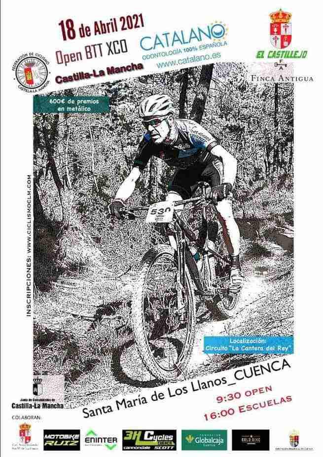 Todo listo para el I Trofeo XCO El Castillejo-Santa María de los Llanos, tercera puntuable del Open regional 1