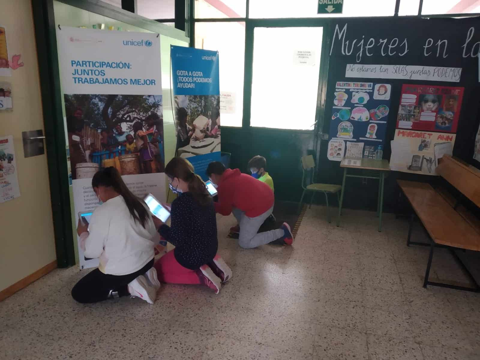 Día del niño y carrera del agua con UNICEF, en el colegio Cervantes de Santa cruz de Mudela 3