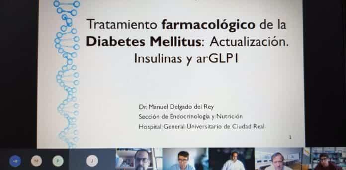 videoconferencia paciente diabetico