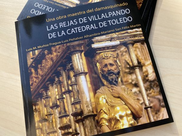 El Gobierno municipal asiste a la presentación del libro 'Las rejas de Villalpando de la Catedral de Toledo' 2