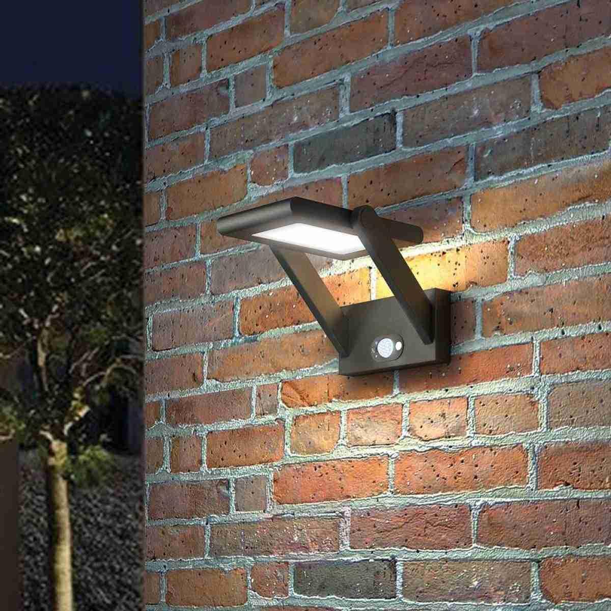 Luces solares para iluminar los espacios exteriores 27