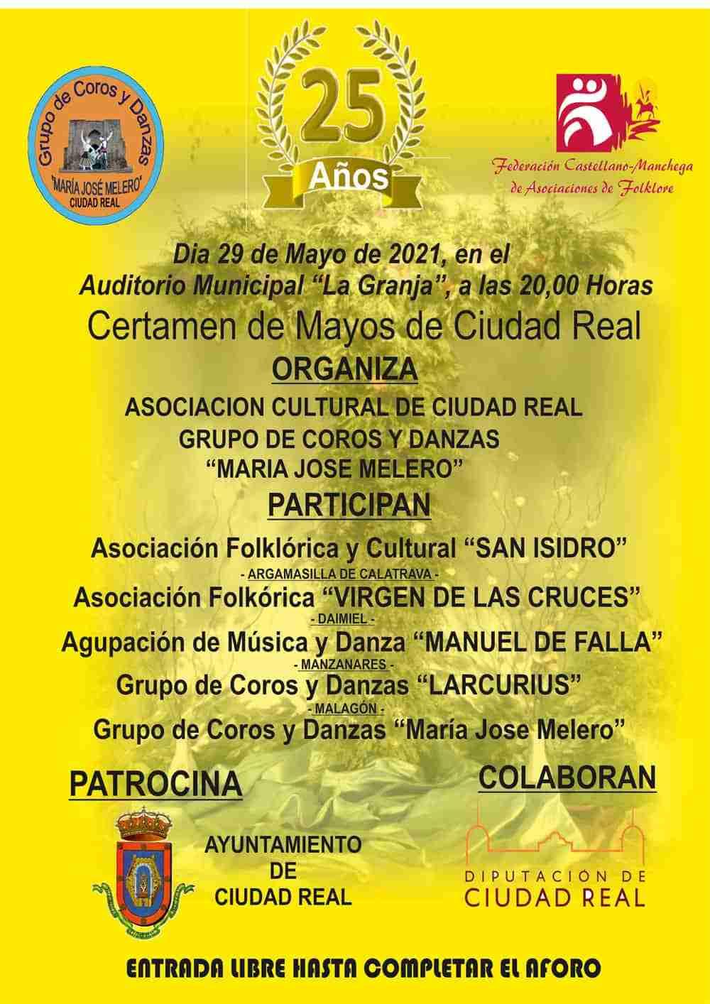 XXV Certamen de Mayos de Ciudad Real