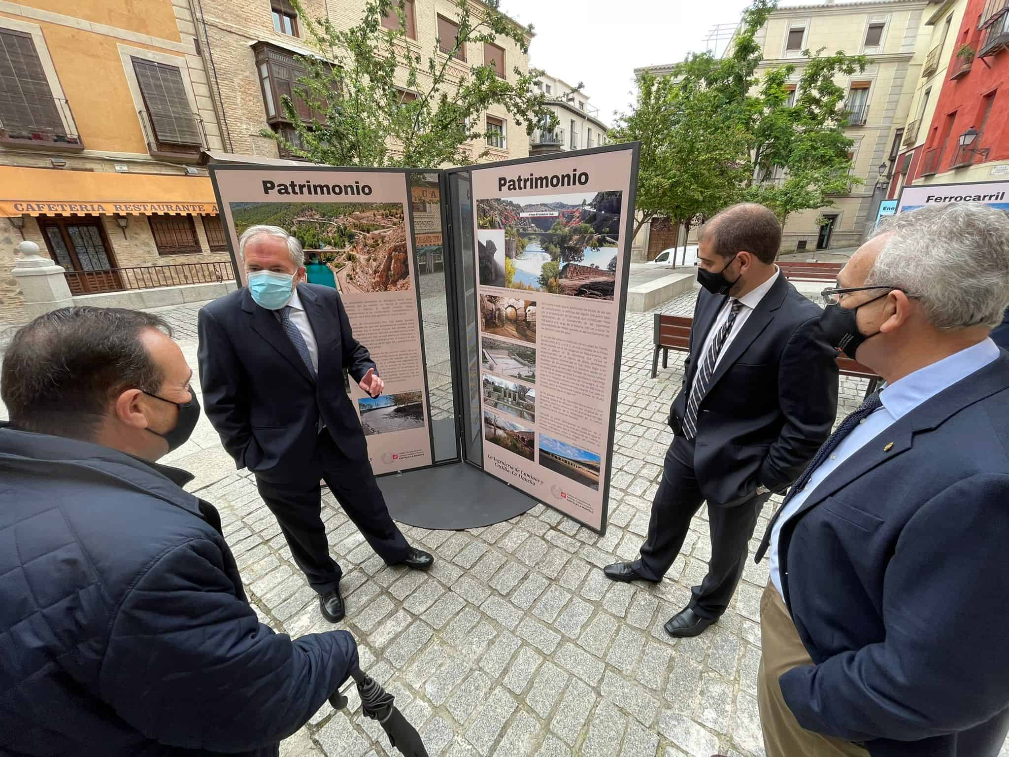 El Colegio de Ingenieros de Caminos inaugura en Toledo una exposición que recorre la aportación de la ingeniería a la sociedad castellano-manchega 5