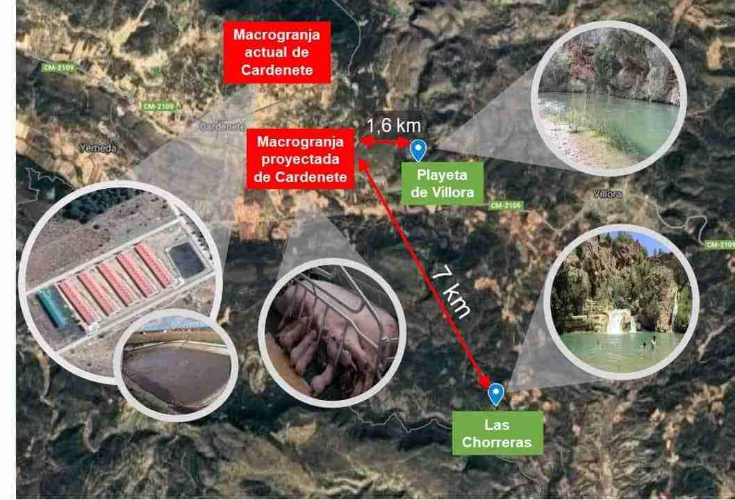 Pueblos Vivos Cuenca lanza una recogida de fondos para luchar contra la instalación de una macrogranja porcina en la Reserva de la Biosfera Valle del Cabriel 3