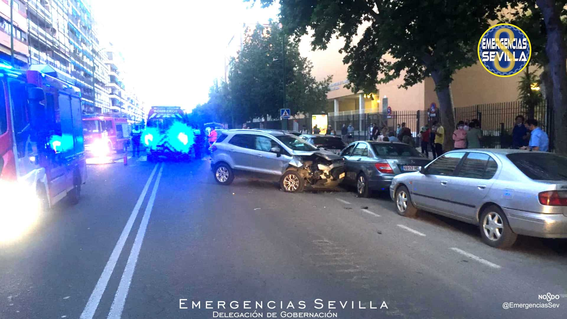 Sevilla: Conductor que quintuplica la tasa máxima de alcoholemia embiste con su vehículo a otro detenido 3