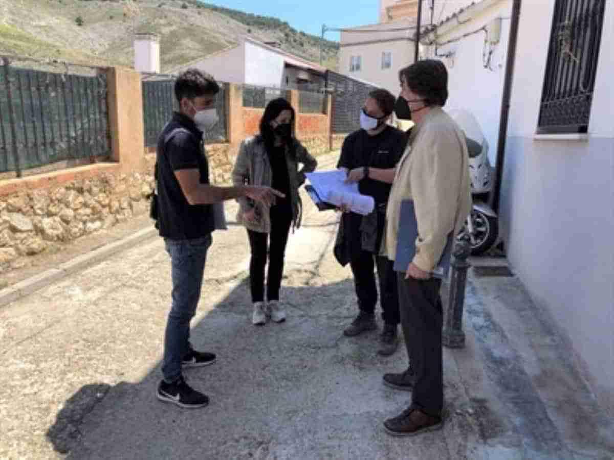 acondicionamiento calle trashumancia cuenca