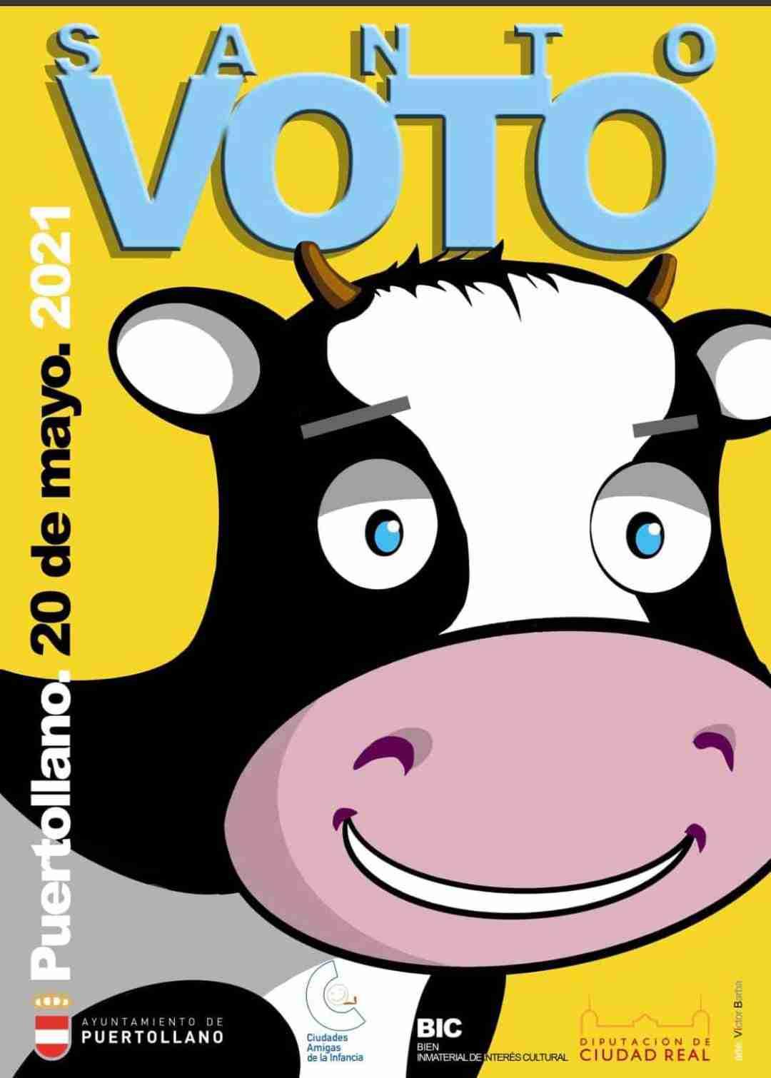 El cartel de Víctor Barba y la lectura del Viva-Voz del Bando Municipal abrirán los actos del Santo Voto 3