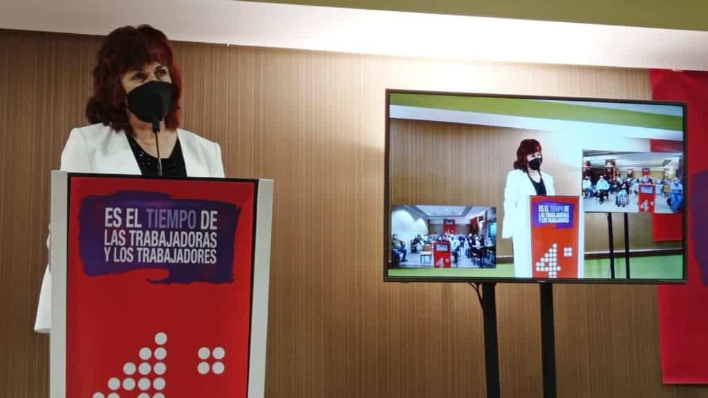 Lola Cachero fue reelegida secretaria general de la Federación de Servicios a la Ciudadanía de CCOO-CLM 5