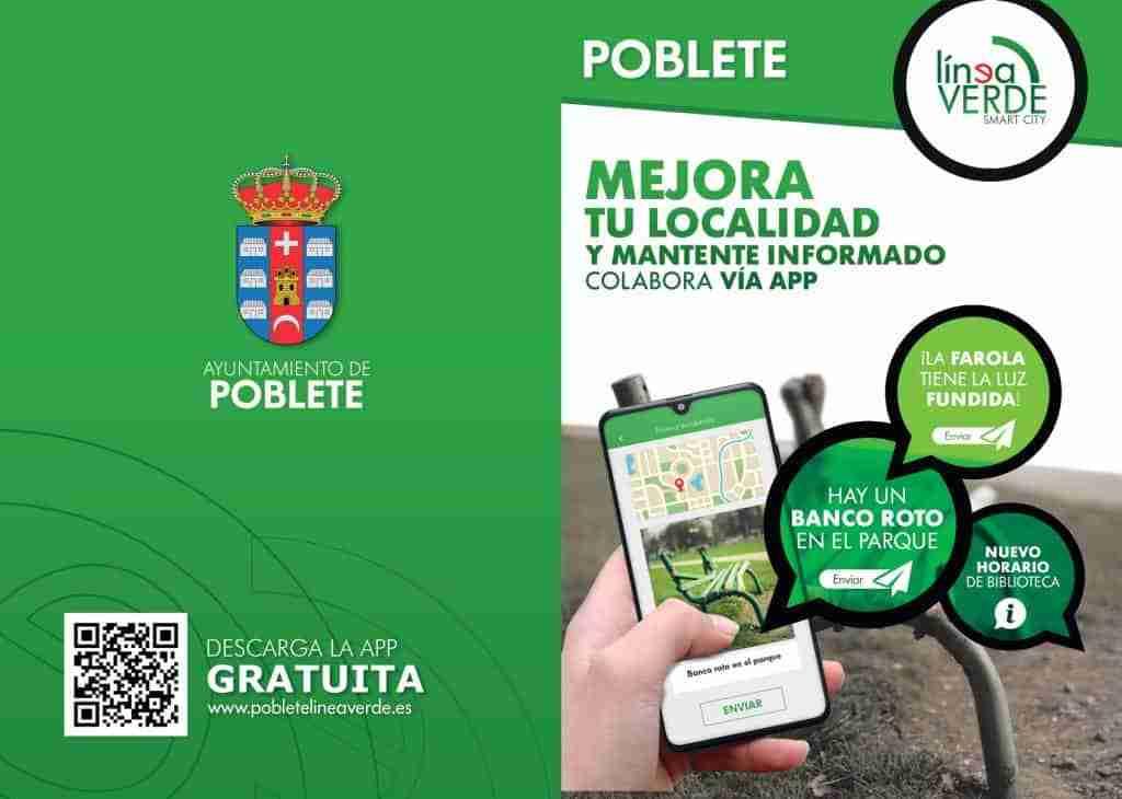 Nuevo servicio de comunicación de incidencias en Poblete mediante una app móvil 2