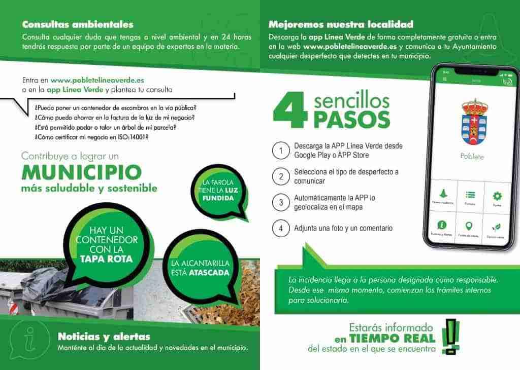 Nuevo servicio de comunicación de incidencias en Poblete mediante una app móvil 1