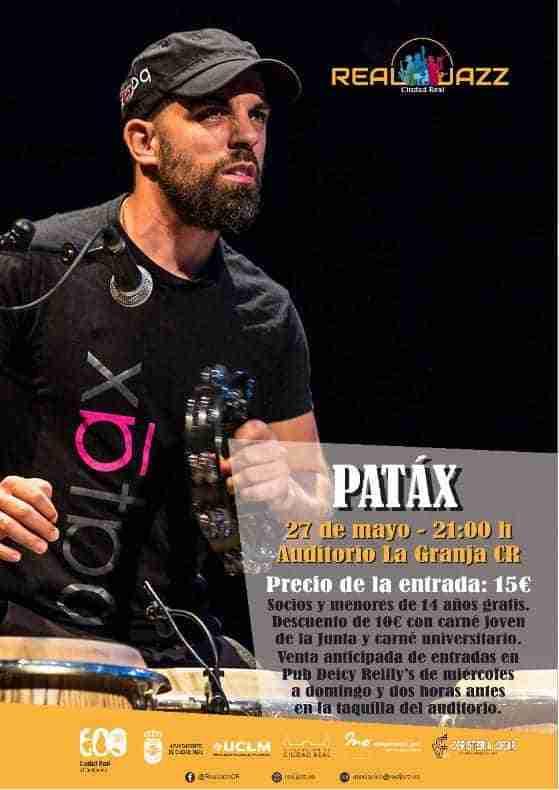 El jazz regresa al Auditorio de la Granja de Ciudad Real con el grupo Patáx 1